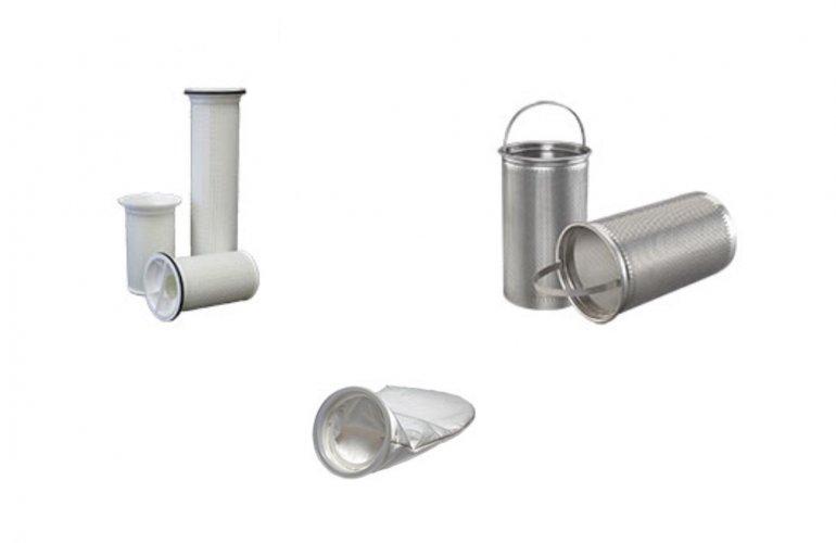 Coadores e sacos de filtros de liquido