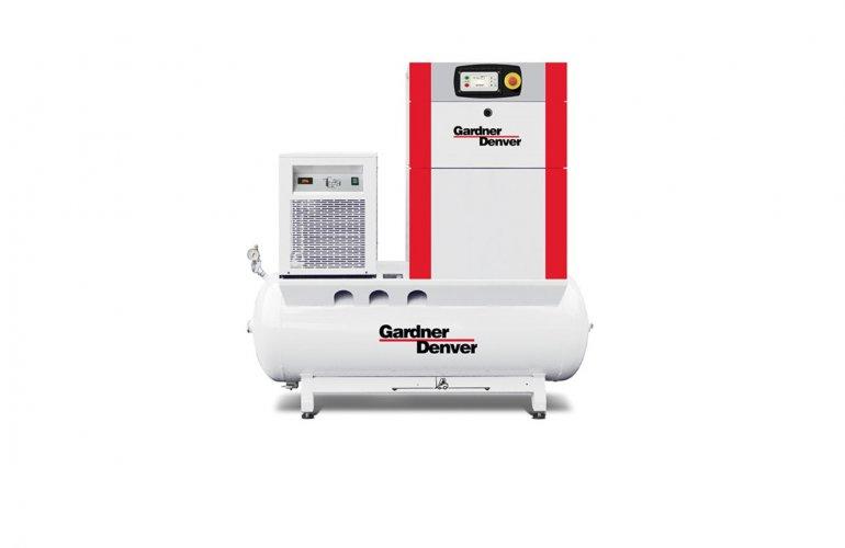 Compressor de parafusos rotativos ESM VS 7-22