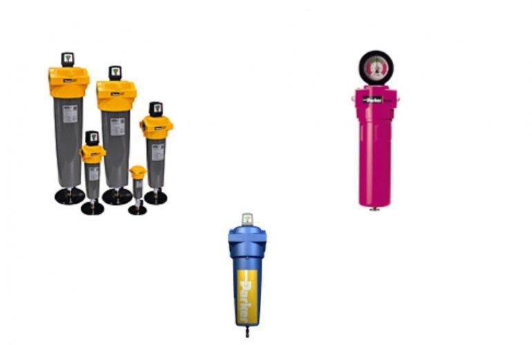 Filtros de gás e ar comprimido