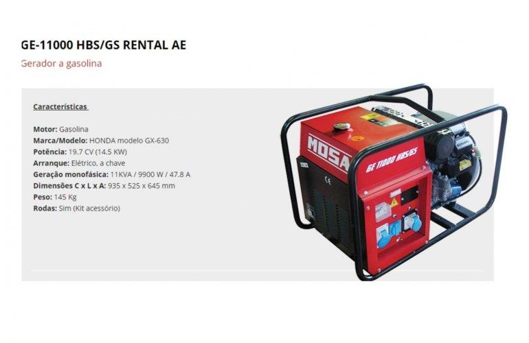 GE-11000 HBS-GS RENTAL AE