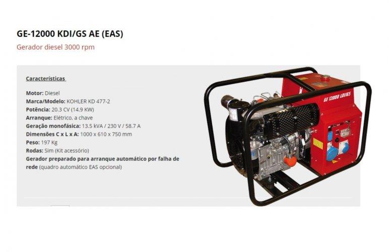 GE-12000 KDI-GS AE (EAS)