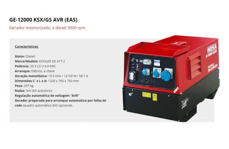 GE-12000 KSX-GS AVR (EAS)