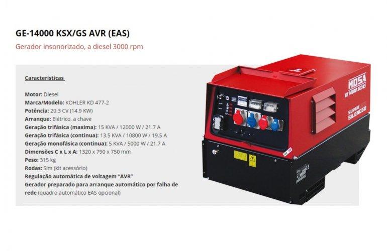 GE-14000 KSX-GS AVR