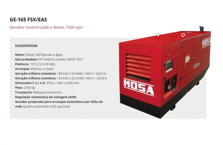 GE-165 FSX-EAS