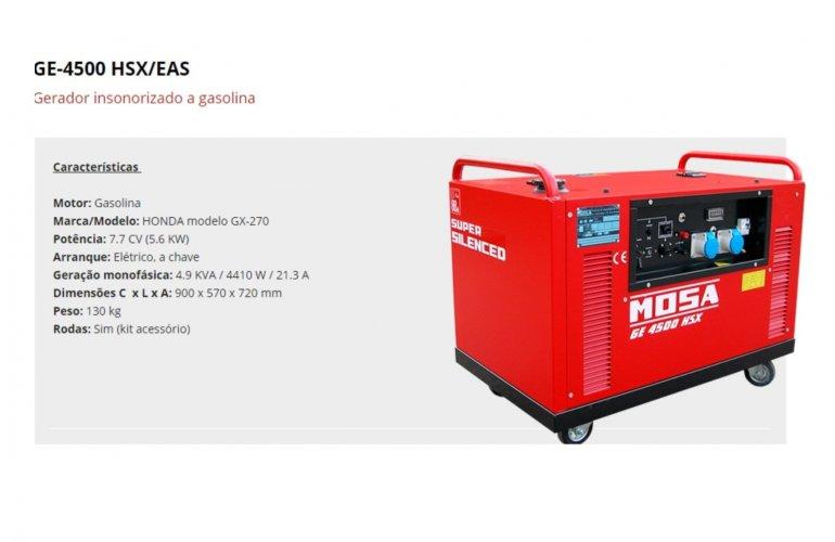 GE-4500 HSX-EAS