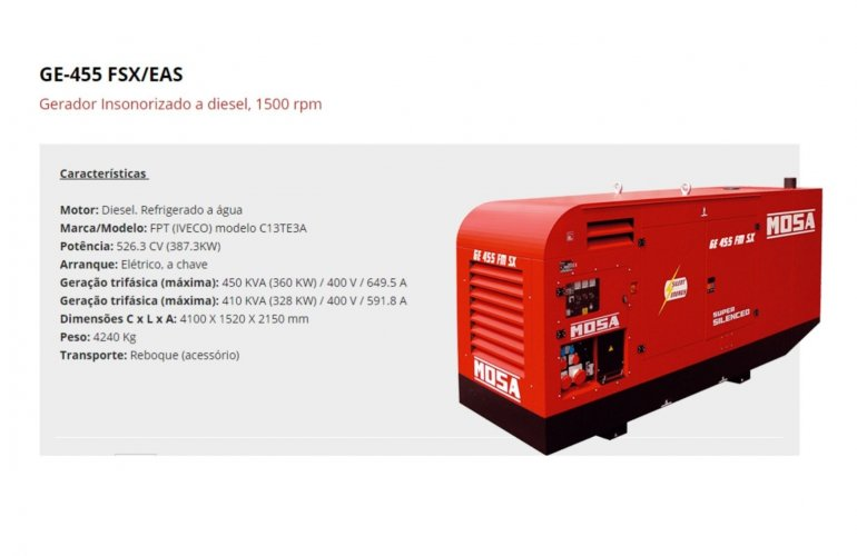 GE-455 FSX-EAS