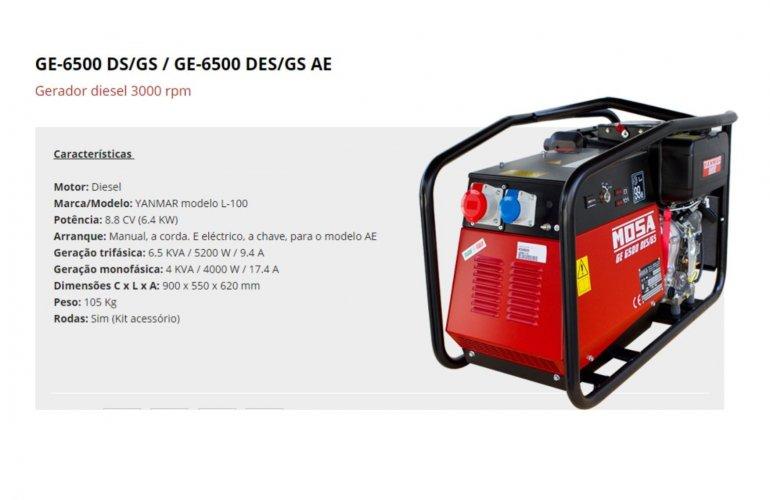 GE-6500 DS-GS - GE-6500 DES-GS AE