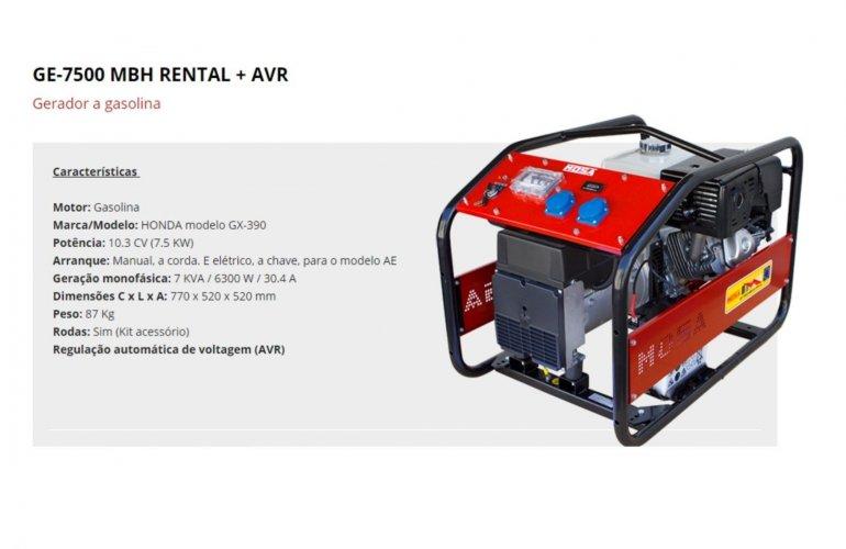 GE-7500 MBH RENTAL + AVR