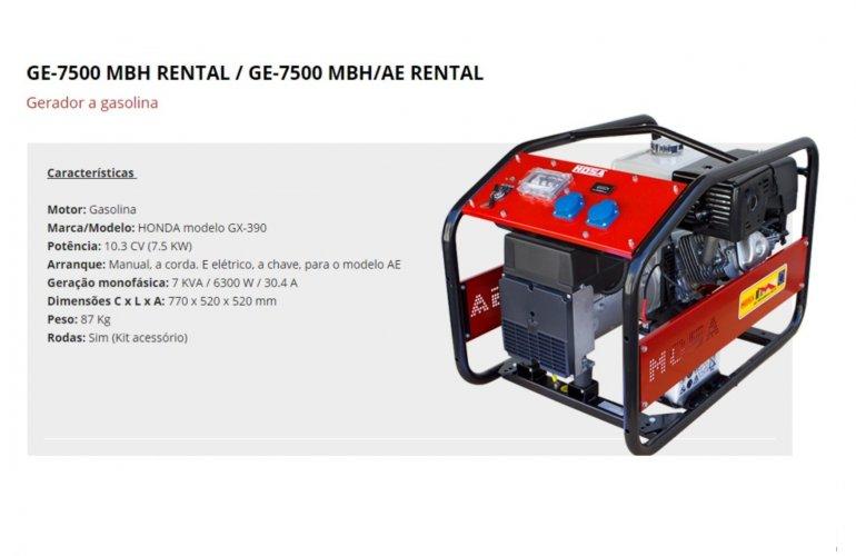 GE-7500 MBH RENTAL - GE-7500 MBH-AE RENTAL